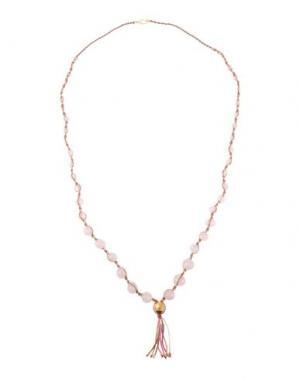Ожерелье CHAN LUU. Цвет: светло-розовый