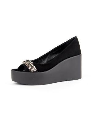Туфли RICCORONA. Цвет: черный