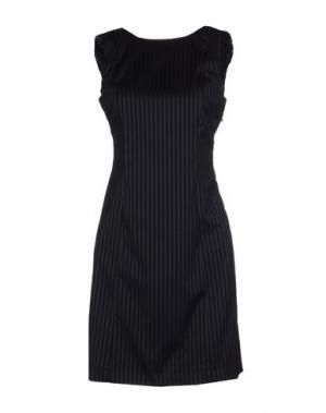 Короткое платье AMERICAN RETRO. Цвет: стальной серый