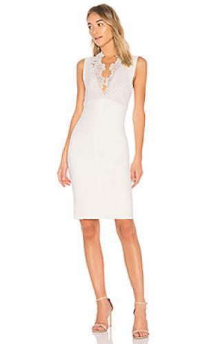 Платье с юбкой-карандаш camelia Lover. Цвет: белый
