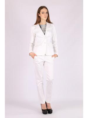 Пиджак FLEURETTA. Цвет: белый