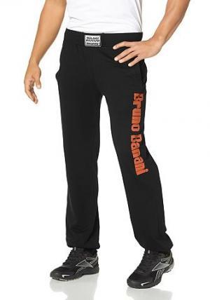 Спортивные брюки BRUNO BANANI. Цвет: черный