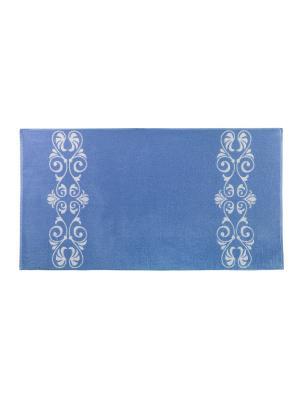Полотенце Aquarelle. Цвет: синий, белый