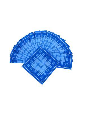 Носовой платкок (к-т 15 шт) ИМАТЕКС. Цвет: синий, белый