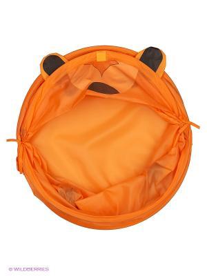 Корзина 45*50см, Медведь Amico. Цвет: оранжевый