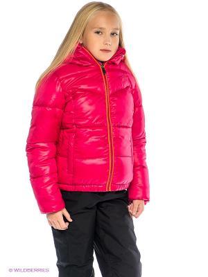Куртка Sanetta. Цвет: фуксия