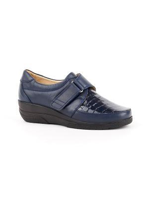 Ботинки ортопедические GELD. Цвет: синий