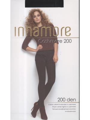 Колготки женские Cashmere 200 nero Innamore. Цвет: черный