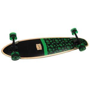 Лонгборд  Hawaii Black 9 x 36 (91.4 см) Eastcoast. Цвет: черный,зеленый