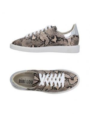 Низкие кеды и кроссовки BIBI LOU. Цвет: бежевый