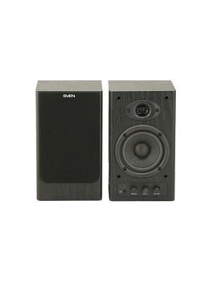 Колонки Sven SPS-610 2.0 черный 20Вт. Цвет: черный