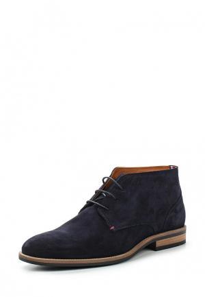Ботинки Tommy Hilfiger. Цвет: синий