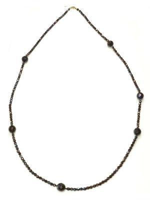 Ожерелье Bohemia Style. Цвет: коричневый
