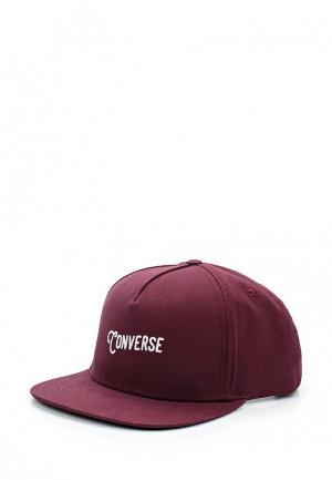 Бейсболка Converse. Цвет: бордовый