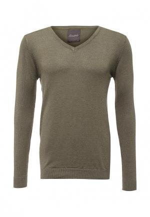 Пуловер Bruebeck. Цвет: хаки