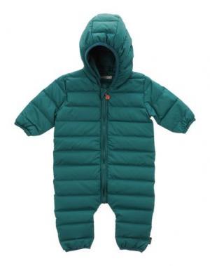 Лыжная одежда IMPS&ELFS. Цвет: зеленый