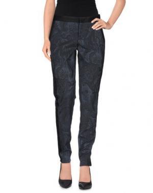 Повседневные брюки PT0W. Цвет: грифельно-синий