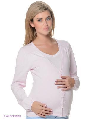 Кардиган ESPRIT. Цвет: бледно-розовый