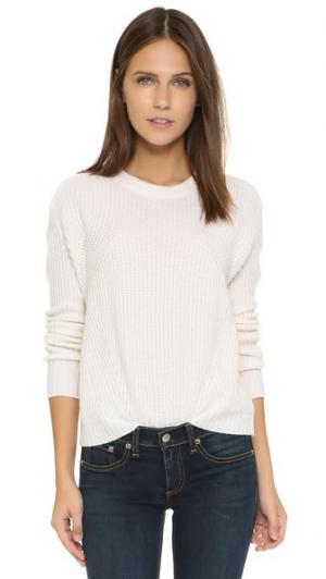 Свободный кашемировый свитер Bop Basics. Цвет: мел