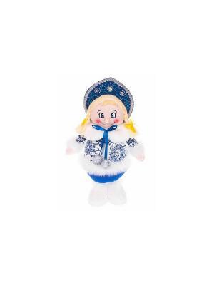 Кукла Снегурочка 35 см, син. Новогодняя сказка. Цвет: синий