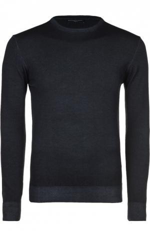 Вязаный пуловер Daniele Fiesoli. Цвет: темно-синий