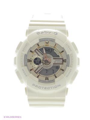 Часы Baby-G BA-110GA-7A2 CASIO. Цвет: кремовый, белый