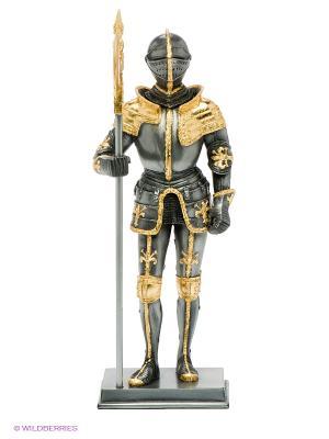 Статуэтка Рыцарь в доспехах Veronese. Цвет: темно-серый, золотистый