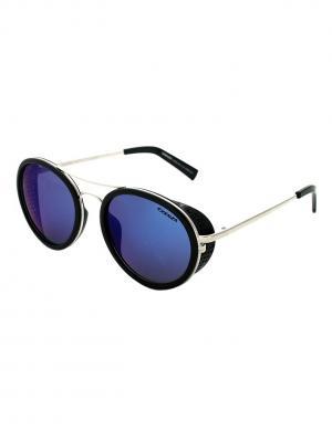 Солнцезащитные очки Exenza. Цвет: черный,темно-синий,серебристый