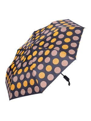 Зонт складной NUAGES. Цвет: черный