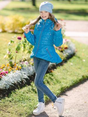 Куртка Алина DUWALI. Цвет: бирюзовый