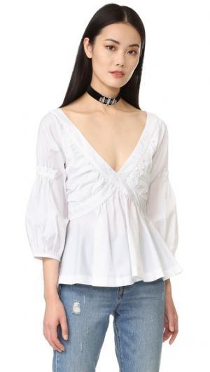 Блуза с Rachel Piamita. Цвет: гштаад