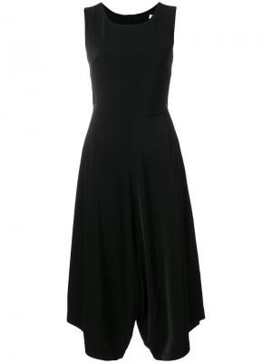 Платье с драпировкой Jovonna. Цвет: чёрный