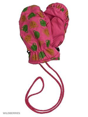 Варежки Mini. Цвет: розовый