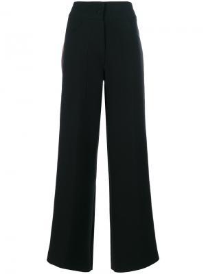 Широкие брюки Daniela Pancheri. Цвет: чёрный