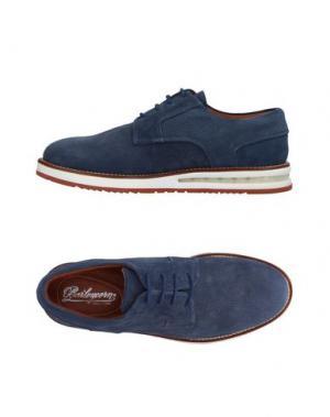 Обувь на шнурках BARLEYCORN. Цвет: синий