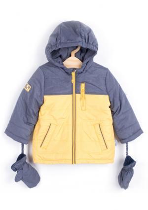 Куртка Coccodrillo. Цвет: желтый (желтый)