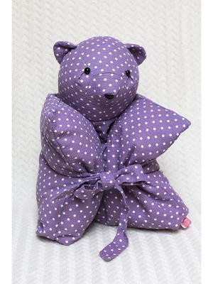 Декоративная подушка Mammi. Цвет: сиреневый