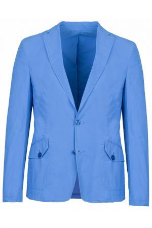Пиджак Versace Collection. Цвет: голубой