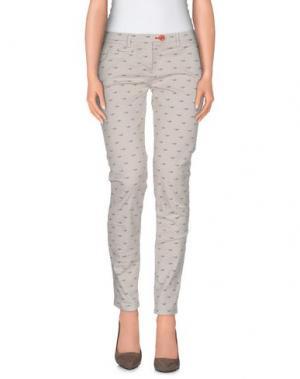 Повседневные брюки SUPERPANTS. Цвет: светло-серый