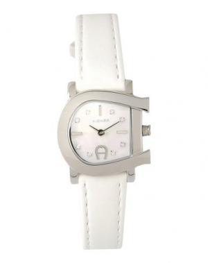 Наручные часы AIGNER. Цвет: белый