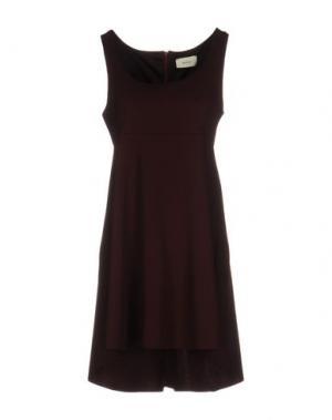 Короткое платье VICOLO. Цвет: баклажанный