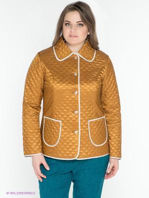 Куртка X'cluSIve. Цвет: коричневый