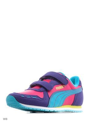 Кроссовки Cabana Racer SL V Inf Puma. Цвет: темно-фиолетовый, бордовый