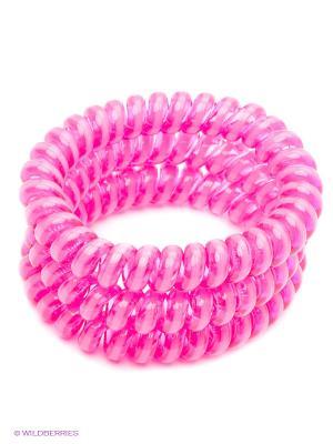 Резинка-браслет для волос Mitya Veselkov. Цвет: розовый