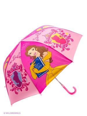 Зонт детскийский. Играем Вместе Дисней принцессы. Цвет: розовый