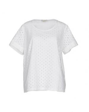Блузка PERSONA. Цвет: белый