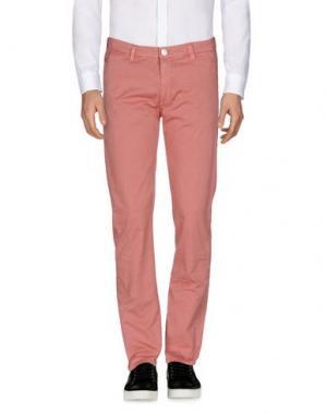Повседневные брюки BARBA NAPOLI. Цвет: пастельно-розовый