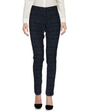 Повседневные брюки BREBIS NOIR. Цвет: темно-синий