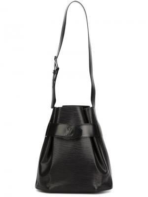 Сумка-мешок на плечо Sac de Paul Louis Vuitton Vintage. Цвет: чёрный