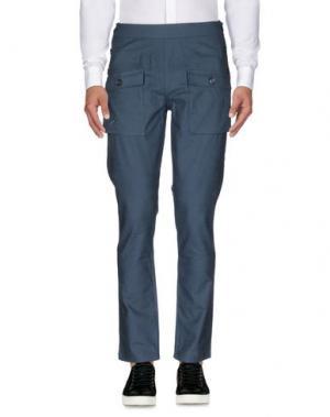 Повседневные брюки PUBLISH. Цвет: грифельно-синий